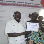 """Maroua, octobre 2016, atelier de formation des volontaires communautaires dans le cadre du projet """"Justice, emploi, personnes et communautés vulnérables et  à risques face au Vih/Sida"""""""